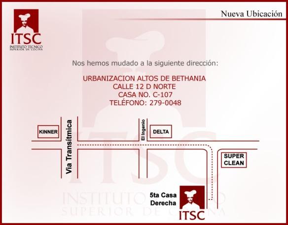PLANO UBICACION ITSC